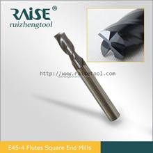 4 flautas carbide end mill fresa cnc ferramenta usada para oficina mecânica