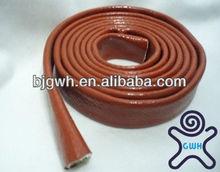 silicone coated fiberglass braided sleeving