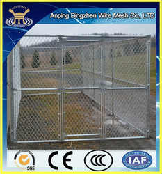 Cheap chain link dog kennels, chain link dog kennel panels for sale