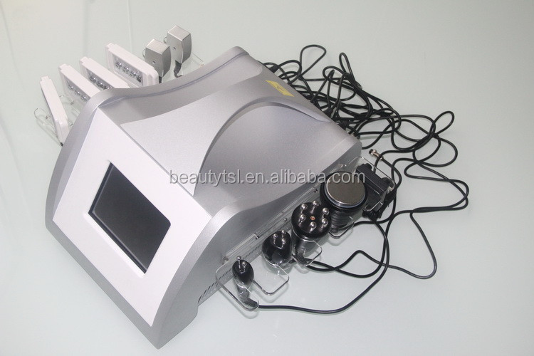TSL-1126T2 multipolar tripolar rf LLLT Diode Laser cavitation liposuction laser machine