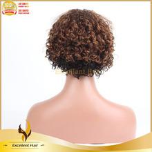 Hot fashion very cheap carnival wig high quality indian human hair carnival wig