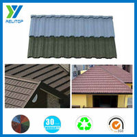 Building materials types of roof tiles/Sand coated roofing sheet