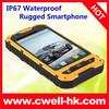 4 Inch IPS Screen ALPS A8 Dual SIM Card Rugged IP67 Waterproof Smartphone