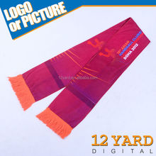 China factory sell custom Logo printting shawls,words printed silk scarf