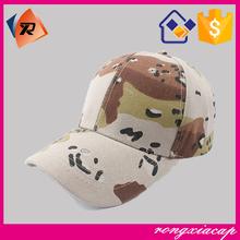 High Quality Camo Baseball Army Military Cap
