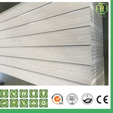 Cheap Price Eco Friendly Exterior Decorative Wood Plastic Composite Wall Cladding Outdoor WPC Wall Panel / Wall Siding