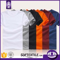 OEM good quality soft fashionable t-shirt embroidery