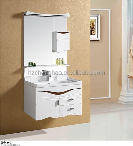 2015 new model modern bathroom vanity cabinet bathroom pvc for New bathroom models