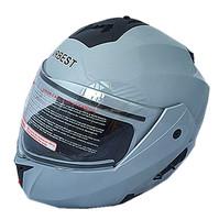 Modular motorbike crash helmet