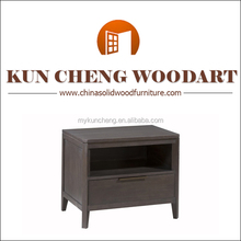 Modern wood arts nightstand/Hot selling classical mirrored nightstand