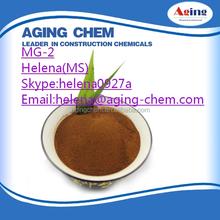 Good effect Calcium Lignosulfonate MG-2/Lignosulphonate for feed additive adhesive hardener