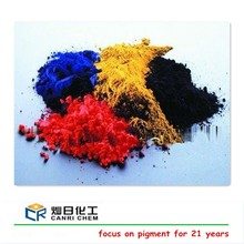 Buy 95% color powder red yellow pigments and synthetic black iron oxide for glass/paper/rubber/coating