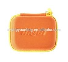 adorable small eva earphone storage bag with zipper