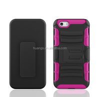 Hot! New! holster back pc hard cell phone cover for iphone 6s hybrid case paypal accept