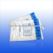 printed flap lock laminated poly bag with self adhesive flap