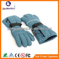 winter windproof warm waterproof battery heated motorcycle gloves