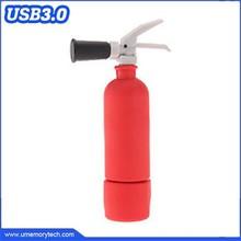 Fire extinguisher shaped usb 3.0 pen drive bulk usb 3.0 flash drive usb 3.0 memory stick