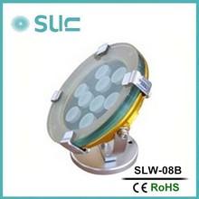 High brightness 23W stainless steel led underwater fountain waterproof light(SLW-08B)