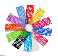 Clear Soft Silicone Keyboard Cover Skin Protective Film Sticker For MacBook Air 11'' 11.6 inch 13Colors