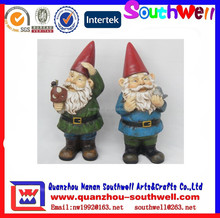 2015 latest Custom design gnome resin garden decoration
