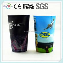 Holographic 3D Lenticular Cups Plastic Personalised Design