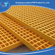 frp grilling,Yellow Fiberglass Grating, FRP Floor Grating