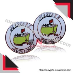 Meaningful golf club ball markers