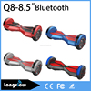 8 inch 8.5 inch Two Wheel Mini Seagway with bluetooth and LED Electronic Motorcycle Balanced Skate