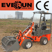 Everun ER06 mini Hydrostatic Wheel Loader, Farm Machine