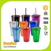 promotional hotsale plastic double wall microwave safe plastic coffee mug