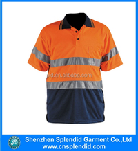 wholesale hi vis polo safety shirt work safety products