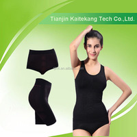 Far infrared slim body shaper suit for women