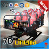 hot sells 7d cinema project hydraulic 8 seat portable 7d cinema sale from china 7d cinema equipment factory