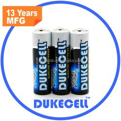 high voltage battery aa lr6 am3 alkaline battery