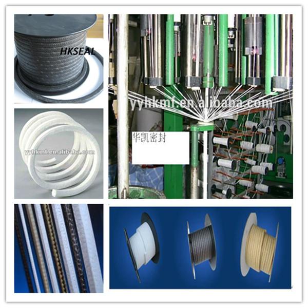 High Temperature Pressure Pure Teflon/PTFE Pump Gland Packing