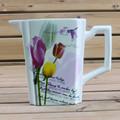 Mejor venta tulipán jarro de agua de cerámica