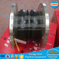 Chemical Industry double sphere rubber joint Made in china