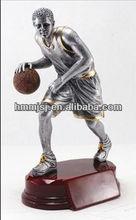 Custom famoso jugadores de baloncesto oem figura de acción bobble head deportista figura de acción sculpter