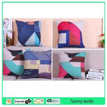 New Design Fashion Decorative Sofa linen Cushion Cover 45x45cm