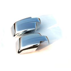 2pcs Triple Chrome door car side mirror cover Fit for 07-15 Jeep PATRIOT