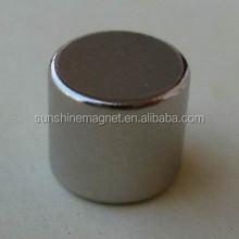 "Powerful Neodymium magnets disc/cylinder/coin/round shape 1/4""*3/8"" N35, N42, N45,N48,N50,N52..."