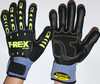 Winter Impact Safety Gloves , Anti-vibration