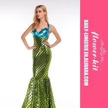 Factory Directly Provide High Quality Fairytale Mermaid Costume Women sexy Halloween costumes