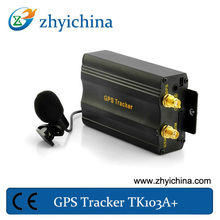ebay china GPS vehicle/car/truck tracker with GPS Valuables Tracking GSM/ GPRS enabled tk103A Supports both SMS and GPRS