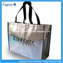 High quality luxury laminated bag non woven