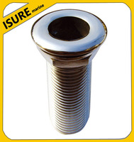 """Stainless Steel Sea Drains plug with hose connection01-1/4"""" for Boat/Yacht/Ship"""
