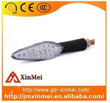 The latest factory price wholesale motorcycle lamps turn signal cylindrical handle directly xm12-010