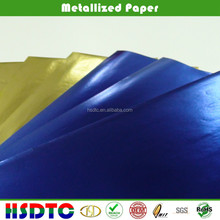 Colored Metallized Paper for printing