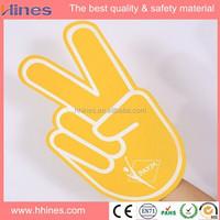 Custom giant cheer EVA foam hand/fingers sales for promotion