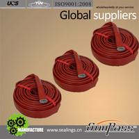 Good Quality Silicone Rubber Coated Braided Fiberglass Sleeving
